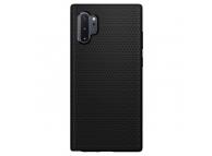 Husa TPU Spigen Liquid Air pentru Samsung Galaxy Note 10+ N975, Neagra, Blister 627CS27330
