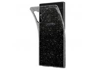 Husa TPU Spigen Liquid Glitter Crystal pentru Samsung Galaxy Note 10 N970, Transparenta, Blister 628CS27371