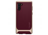 Husa Plastic - TPU Spigen Neo Hybrid pentru Samsung Galaxy Note 10 N970, Aurie - Visinie, Blister 628CS27383