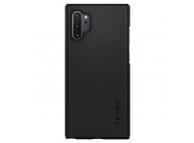 Husa Plastic Spigen Thin Fit pentru Samsung Galaxy Note 10+ N975, Neagra, Blister 627CS27325