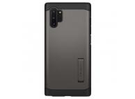 Husa Plastic Spigen Tough Armor pentru Samsung Galaxy Note 10+ N975, Neagra, Blister 627CS27337