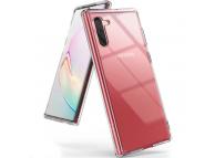 Husa Plastic - TPU Ringke Fusion pentru Samsung Galaxy Note 10 N970, Transparenta, Blister FSSG0067