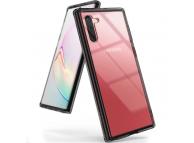 Husa Plastic - TPU Ringke Fusion pentru Samsung Galaxy Note 10 N970, Neagra - Transparenta, Blister FSSG0068