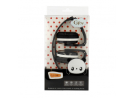 Handsfree Casti On-Ear Gjby EXTRA BASS, GJ-04, Fara microfon, 3.5 mm, Negru, Blister