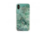 Husa TPU Vennus Marble Stone pentru Samsung Galaxy A10 A105, Verde, Blister