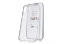 Husa TPU OEM 2mm pentru Samsung Galaxy A40 A405, Transparenta, Bulk