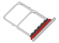 Suport Card / SIM 2 - Suport SIM Argintiu (Pearl White) Huawei P30