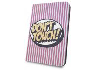 Husa Poliuretan GreenGo Don't Touch pentru Tableta 7 inci - 8 inci, Roz, Bulk
