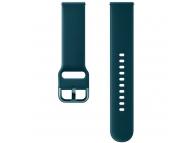 Curea Ceas Sport Band pentru Samsung Galaxy Watch Active / Galaxy Watch (42mm) / Gear Sport, 20 mm, Verde, Blister, ET-SFR50MGEGWW