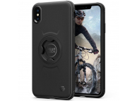 Husa Plastic Spigen 065CS25074 pentru Apple iPhone XS Max, Gearlock CF103 Bike Mount, Neagra, Blister 065CS25074