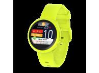 Ceas Bluetooth Smartwatch MyKronoz ZeRound3 Lite, Galben, Blister KRZEROUND3LITE