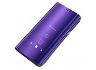 Husa Plastic OEM Clear View pentru Samsung Galaxy A10 A105, Mov, Blister