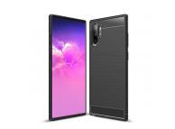 Husa TPU OEM Carbon pentru Samsung Galaxy Note 10+ N975 / Note 10+ 5G N976, Neagra, Bulk