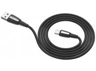 Cablu Date si Incarcare USB la USB Type-C HOCO X39 Titan, 3A, 1 m, Negru, Blister