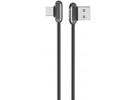 Cablu Date si Incarcare USB la USB Type-C HOCO U60 Soul secret Gaming, 3A, 1.2 m, Negru, Blister
