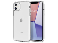 Husa TPU Spigen Liquid Crystal pentru Apple iPhone 11, Transparenta, Blister 076CS27179