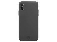 Husa TPU Tellur Sand pentru Apple iPhone X / Apple iPhone XS, Gri, Blister TLL121572