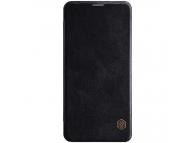 Husa Piele Nillkin Qin Book pentru Samsung Galaxy Note 10 N970, Neagra, Blister