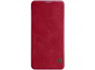 Husa Piele Nillkin Qin Book pentru Samsung Galaxy Note 10 N970, Rosie, Blister