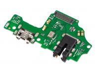 Placa  Cu Conector Incarcare / Date - Conector Audio - Microfon Huawei Y9 (2019)