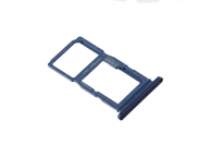 Suport Card / SIM 2 - Suport SIM 1 Albastru Huawei P Smart Z
