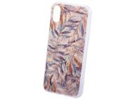 Husa Plastic OEM Ultra Trendy Autumn1 pentru Samsung Galaxy A40 A405, Multicolor - Transparenta, Bulk