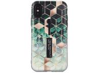Husa Plastic - TPU OEM Rhombus Embossed pentru Apple iPhone XR, Vernil, Bulk