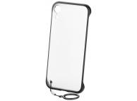 Husa TPU OEM Frosted Anti-alunecare, cu suport inel telefon pentru Samsung Galaxy S10+ G975, Neagra, Bulk