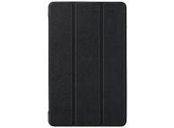 Husa Piele OEM Custer Texture pentru Huawei MediaPad M5 lite 8, Neagra, Bulk