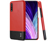 Husa Piele Imak Ruiyi Concise Samsung Galaxy A50 A505 / Samsung Galaxy A50s A507 / Samsung Galaxy A30s A307, Neagra - Rosie, Bulk