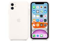 Husa Silicon Apple iPhone 11, Alba, Blister MWVX2ZM/A