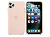 Husa Silicon Apple iPhone 11 Pro Max, Roz, Blister MWYY2ZM/A