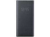 Husa Samsung Galaxy Note 10+ N975, LED View Cover, Neagra, Bulk EF-NN975PB