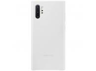 Husa Piele Samsung, Samsung Galaxy Note 10+ N975, Leather Cover, Alba, Bulk EF-VN975LW