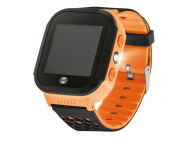 Ceas Smartwatch Forever Kids KW-200 Find Me, Localizare GPS / LBS, Portocaliu, Blister