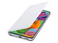 Husa Samsung Galaxy A90 5G A908, Wallet Cover, Alba, Blister EF-WA908PWEGWW