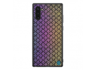 Husa Plastic - TPU Nillkin Twinkle Hard pentru Samsung Galaxy Note 10 N970, Rainbow, Multicolor, Blister