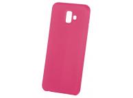 Husa TPU OEM Pure Silicone pentru Apple iPhone 7 Plus / Apple iPhone 8 Plus, Ciclam, Bulk