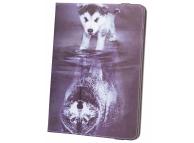 Husa Poliuretan GreenGo Little Wolf pentru Tableta 9 inci - 10 inci, Multicolor, Bulk