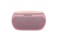 Difuzor portabil Bluetooth Awei Y200, Roz Auriu, Blister