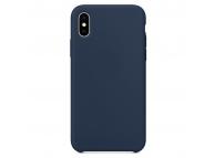 Husa TPU OEM Pure Silicone pentru Samsung Galaxy Note 10 N970, Bleumarin, Blister