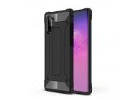 Husa Plastic - TPU OEM Tough Armor pentru Samsung Galaxy Note 10+ N975 / Note 10+ 5G N976, Neagra, Bulk