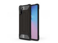 Husa Plastic - TPU OEM Tough Armor pentru Samsung Galaxy Note 10 N970, Neagra, Bulk
