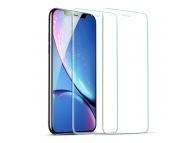Folie Protectie Ecran ESR pentru Apple iPhone 11, Sticla securizata, set 2 bucati, Blister