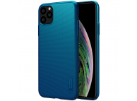 Husa TPU Nillkin Super Frosted pentru Apple iPhone 11 Pro Max, Peacock, Albastra, Blister
