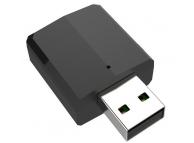 Receptor / Transmitator AUX Bluetooth OEM JEDX-169P, BT 5.0, 3.5 mm, Negru, Blister
