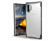 Husa Plastic Urban Armor Gear UAG Plyo pentru Samsung Galaxy Note 10+ N975 / Note 10+ 5G N976, Argintie (ICE), Blister
