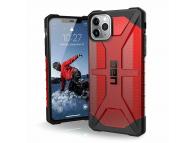 Husa Plastic Urban Armor Gear UAG Plasma pentru iPhone 11 Pro Max, Visinie (MAGMA), Blister