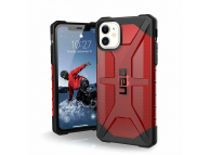 Husa Plastic Urban Armor Gear UAG Plasma pentru Apple iPhone 11, Visinie (MAGMA), Blister