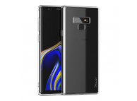 Pachet promotional iPaky Effort, Husa TPU transparenta + Folie Protectie Ecran Plastic pentru Samsung Galaxy Note 9 N960, Blister